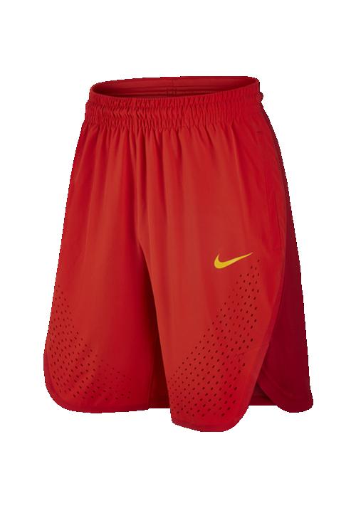 fc4588b273e Nike PANTALON CORTO SELECCION ESPAÑOLA BALONCESTO RIO 2016 NIKE ROJO ...
