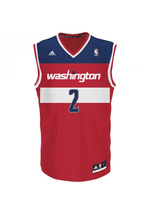 CAMISETA ADIDADES REPLICA WASHINGTON WIZARDS - JOHN WALLS