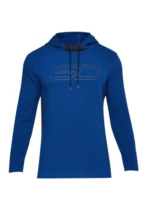 CAMISETA ML UNDER ARMOUR SC30 LS HOODED