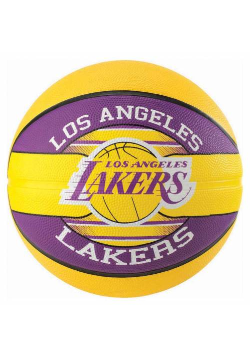 BALON NBA SPALDING ANGELES LAKERS T.7