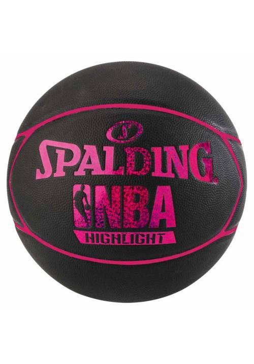 BALON BALONCESTO SPALDING NBA HIGLIGHT 4HER T6