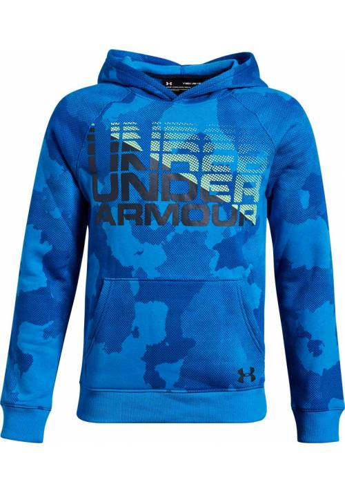 SUDADERA NIÑO UNDER ARMOUR BLU