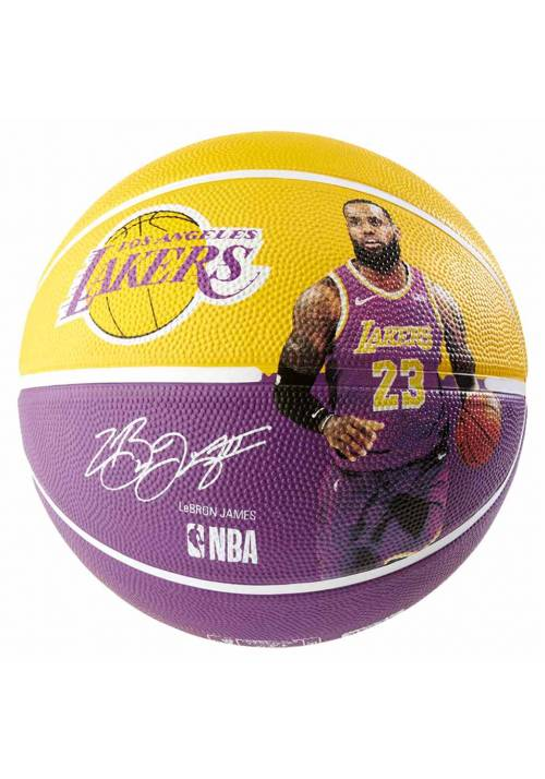 BALON BALONCESTO SPALDING LEBRON JAMES T.5