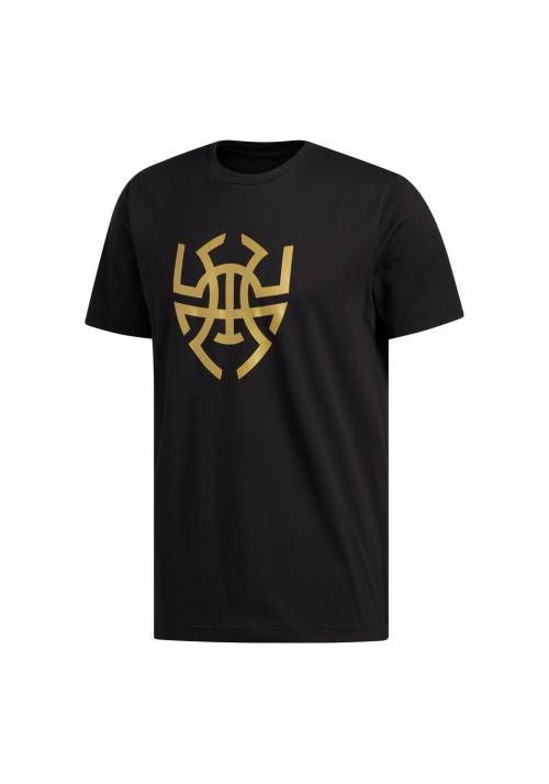 DM LOGO TEE GOLD