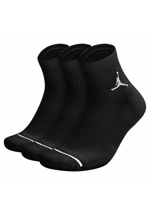 CALCETIN JUMPMAN HIGH-INTENSITY QUARTER SOCK (3 PARES) 010