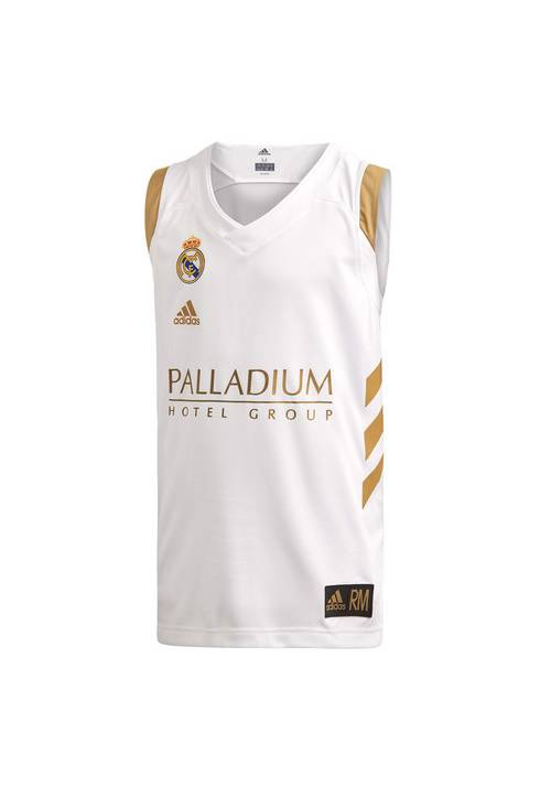 1ª CAMISETA REAL MADRID BALONCESTO TEMPORADA 2019-20