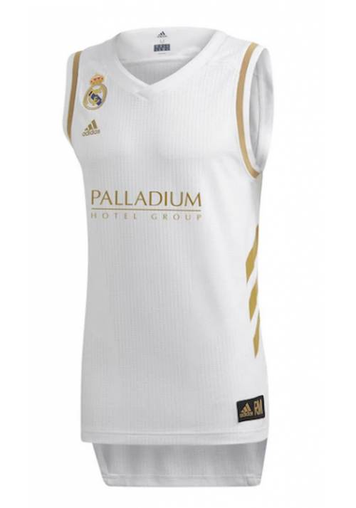 CAMISETA OFICIAL REAL MADRID DE BALONCESTO 2018/19 ADULTO