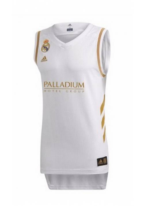 CAMISETA OFICIAL REAL MADRID DE BALONCESTO 2019/20 ADULTO