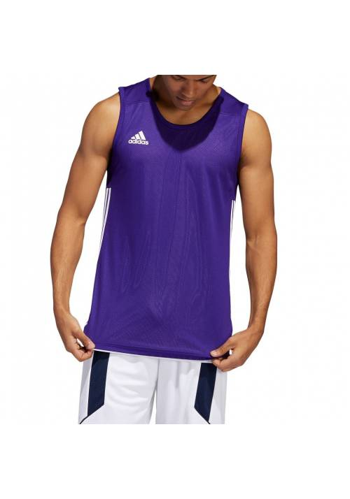 CAMISETA REVERSIBLE ADIDAS 3G SPEED LILA