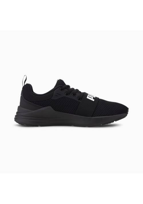 PUMA WIRED RUN JR NEGRA