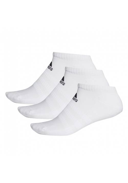 PACK 3 CALCETINES CUSH LOW BLANCOS